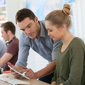 Capacitación de equipos de aprendizaje digital