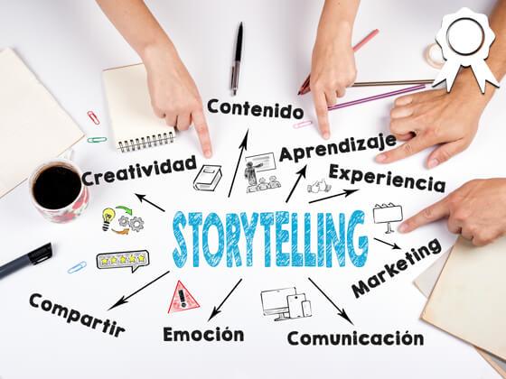 Curso Storytelling: narrativas digitales para aprender, motivar y comunicar